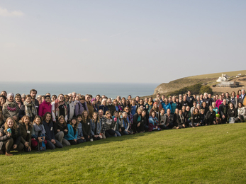 The Your Shore Network Volunteers from Cornwall's Marine Conservation Groups credit Vinny Stelzer