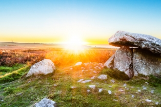 Chun Quoit sunset by Ben Watkins