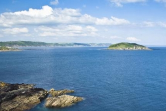 View of Looe Island