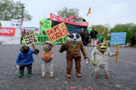 Wind In The Willows Protest