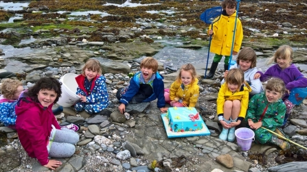 A decade of donations for Cornwall's Living Seas