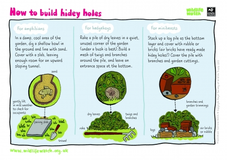 How to build hidey-holes