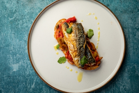 Pan fried mackerel by Ken Symons - image by Mike Searle
